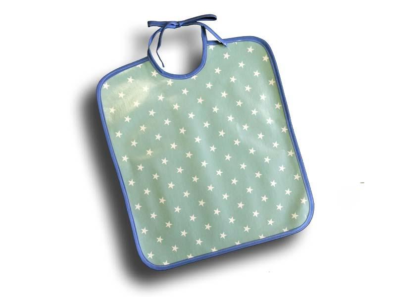 Serviette de table plastifiée - Modèle Etoile Bleue