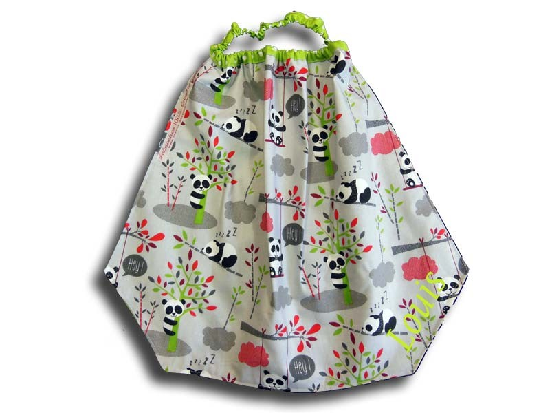 Serviette de Table Enfant - Motif Panda