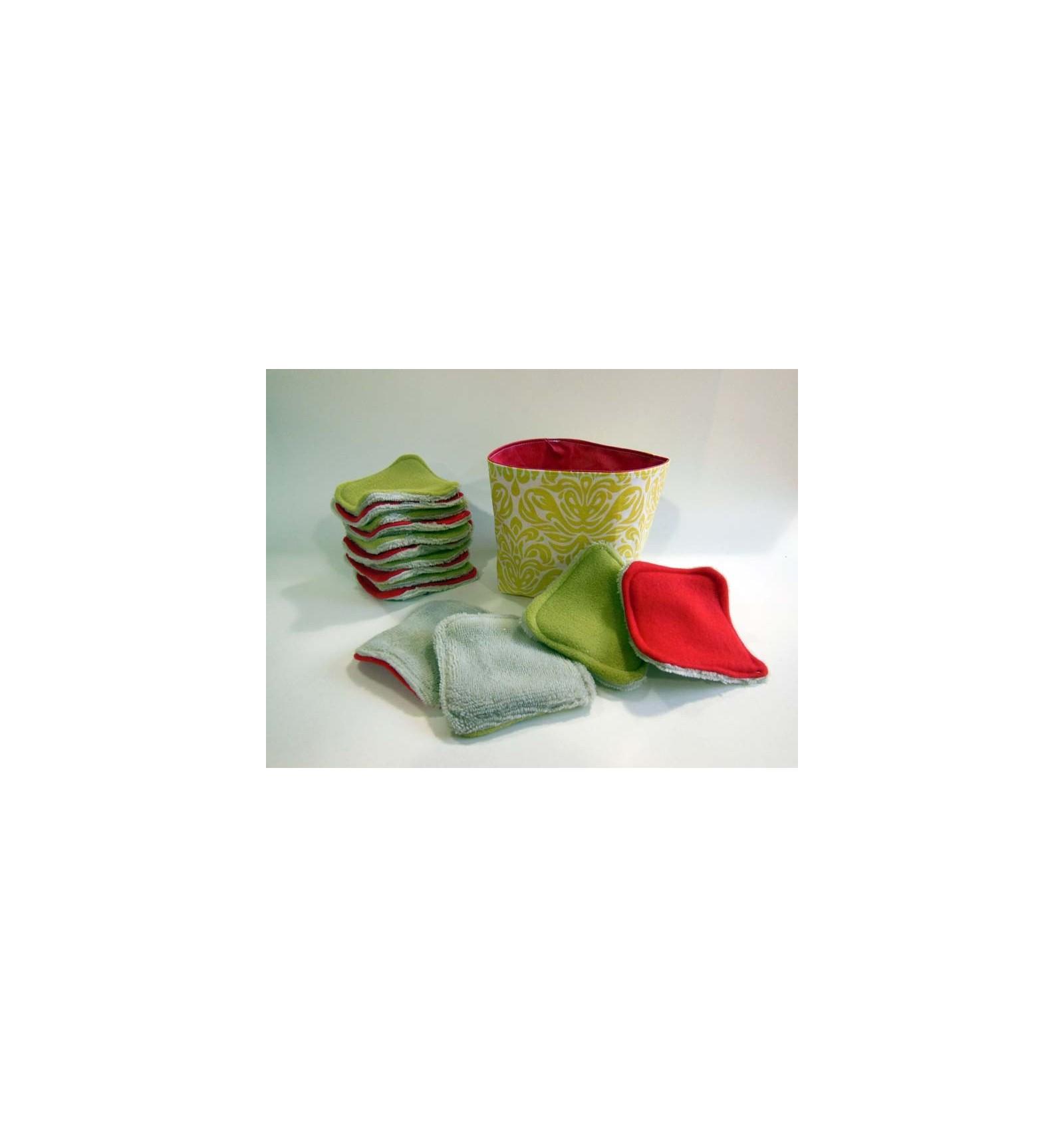 coffret cadeau lingettes d maquillantes lavable vintage. Black Bedroom Furniture Sets. Home Design Ideas