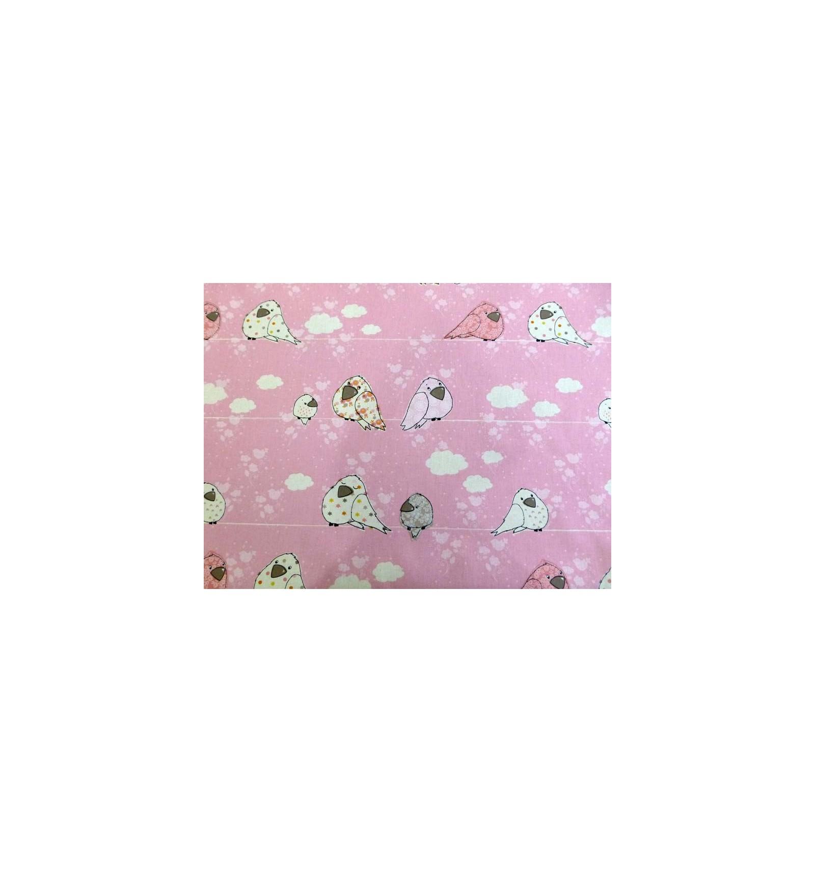 Tissu b b fille rose tissus d coration chambre enfant for Tissu pour chambre bebe