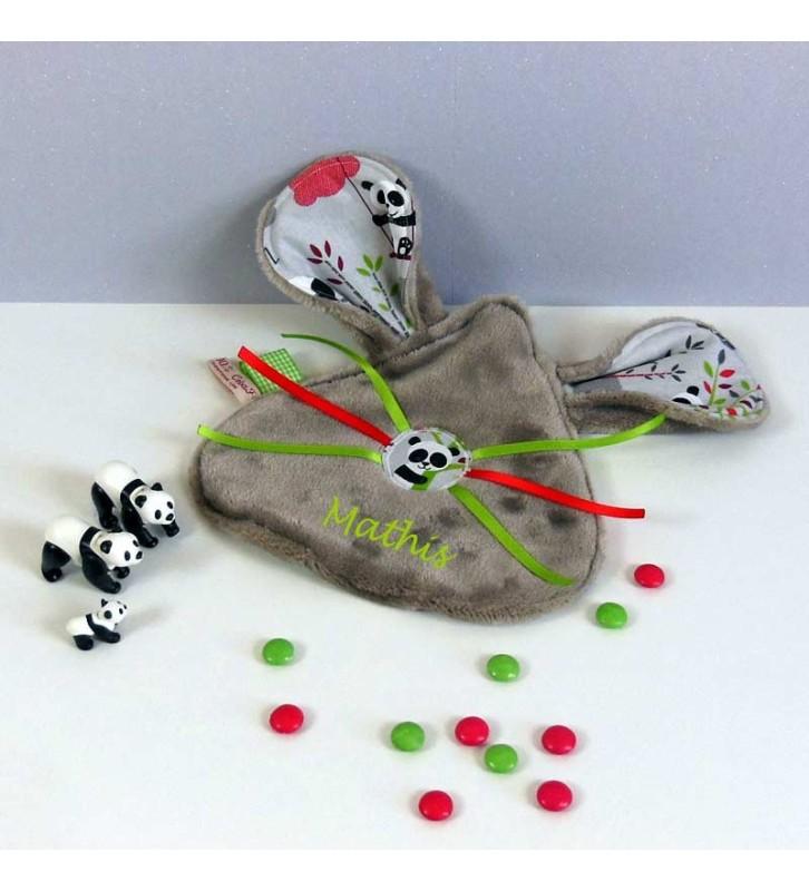 Doudou Personnalisé - Doudou Enfant Panda