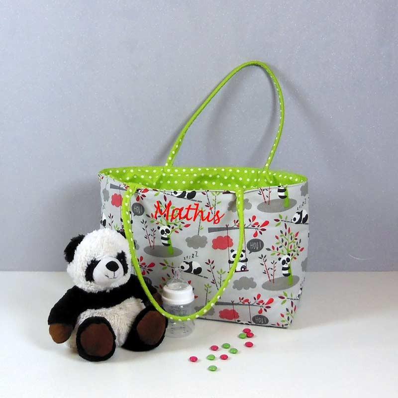 Cadeau Naissance - Sac à Langer Panda