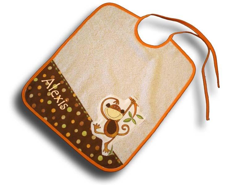 Cadeau pour Bébé - Grand Bavoir Naissance Chococo