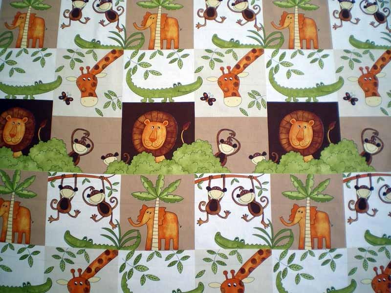 Tissu pour enfant chococo