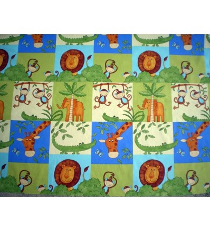 Tissu pour enfant savane