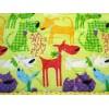 Edredon enfant 100 x 120 cm chiens rigolos détail
