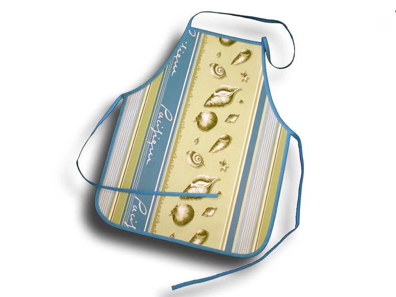Tablier de cuisine 4-10 ans plastique coquillages