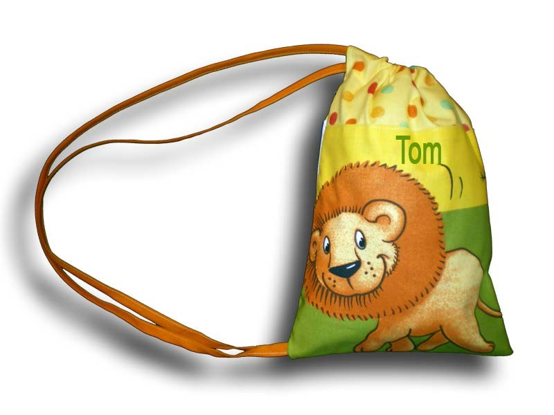 Sac fourre tout jungle multicolore