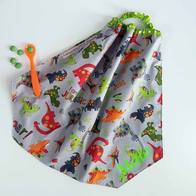Serviette de Table Enfant - Motif Jurassic