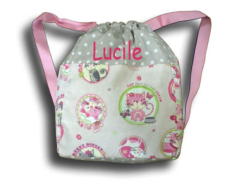 sac dos enfant sac de maternelle sac dos personnalis b b. Black Bedroom Furniture Sets. Home Design Ideas