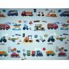 Tissu pour enfant camions