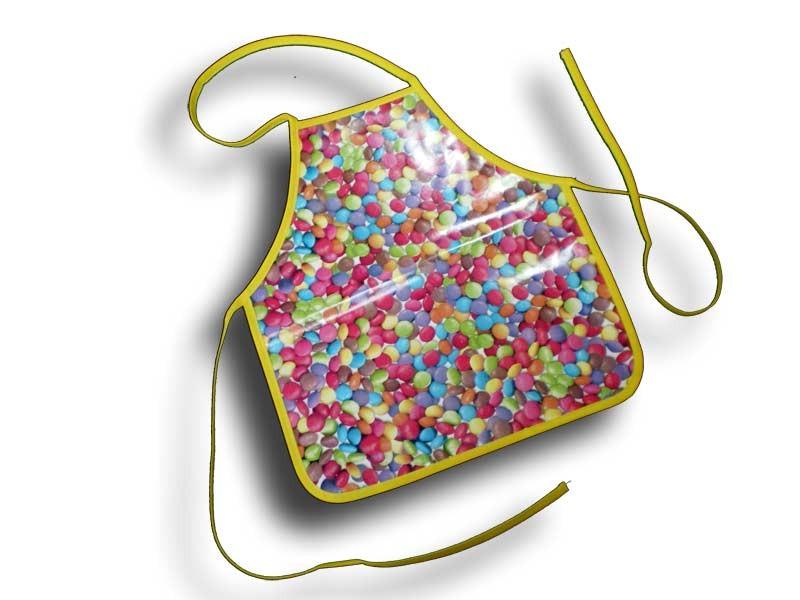 Tablier plastique enfant 2-4 ans Smarties
