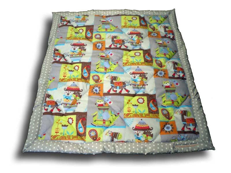 Edredon bébé 80x100 cm motif cirque