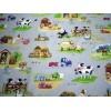 Tissu pour enfant motifs campagne