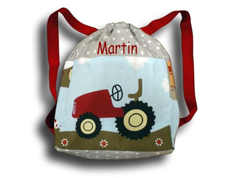 sac à dos à la ferme beige