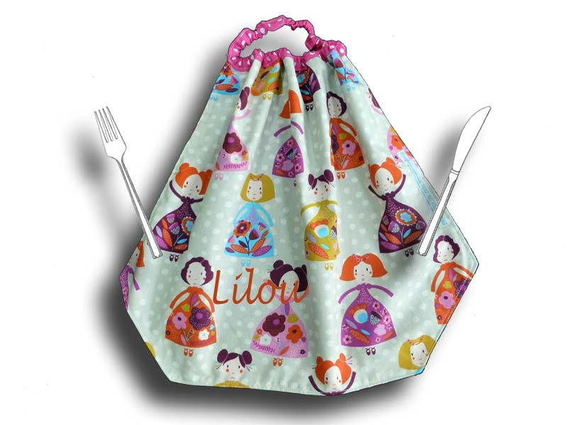 Serviette de table enfant - Princesse