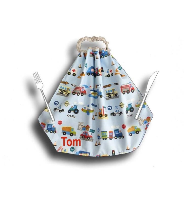 Grande serviette de table maternelle - Camion