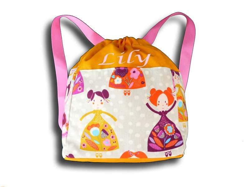 sac à dos maternelle - Princesse