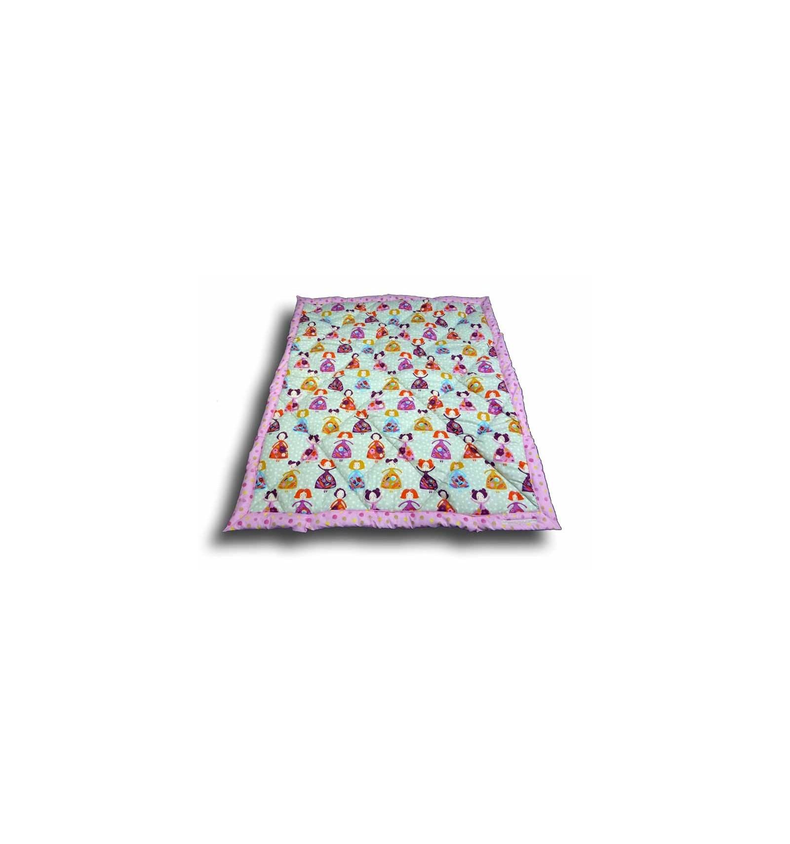 edredon couvre lit enfant edredon 100x120 cm motif princesse cr aflo. Black Bedroom Furniture Sets. Home Design Ideas
