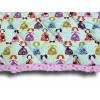 Edredon - Couvre lit enfant 100 x 120 cm motif Princesse, détail du motif