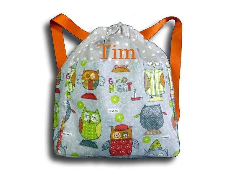 sac dos gar on sac dos enfant personnalis motif. Black Bedroom Furniture Sets. Home Design Ideas