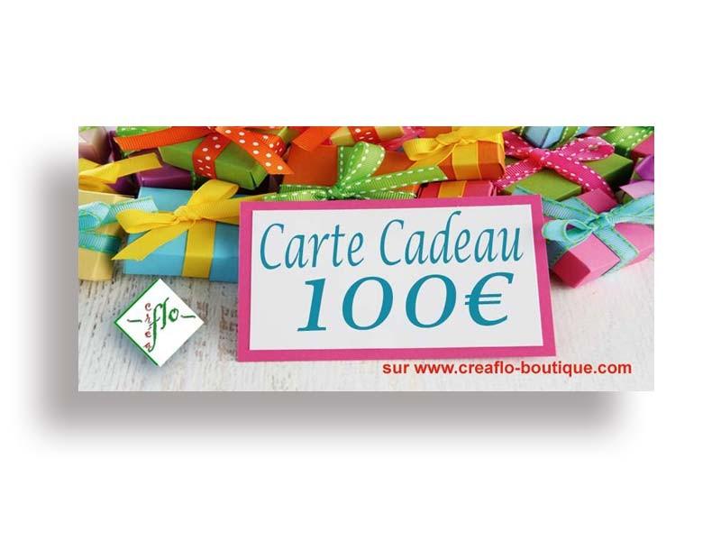 La Carte Cadeau CréaFlo 100 €