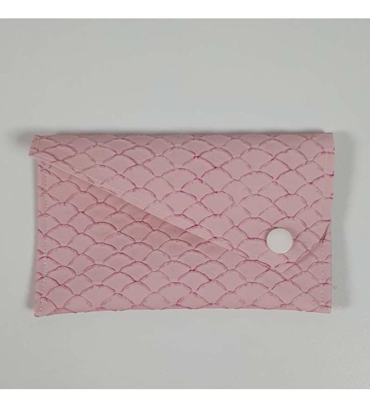 Porte Carte - Collection Ecaille Rose