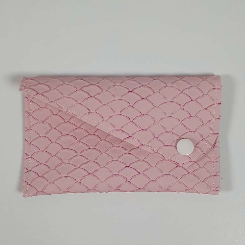 Porte Cartes - Collection Ecaille Rose
