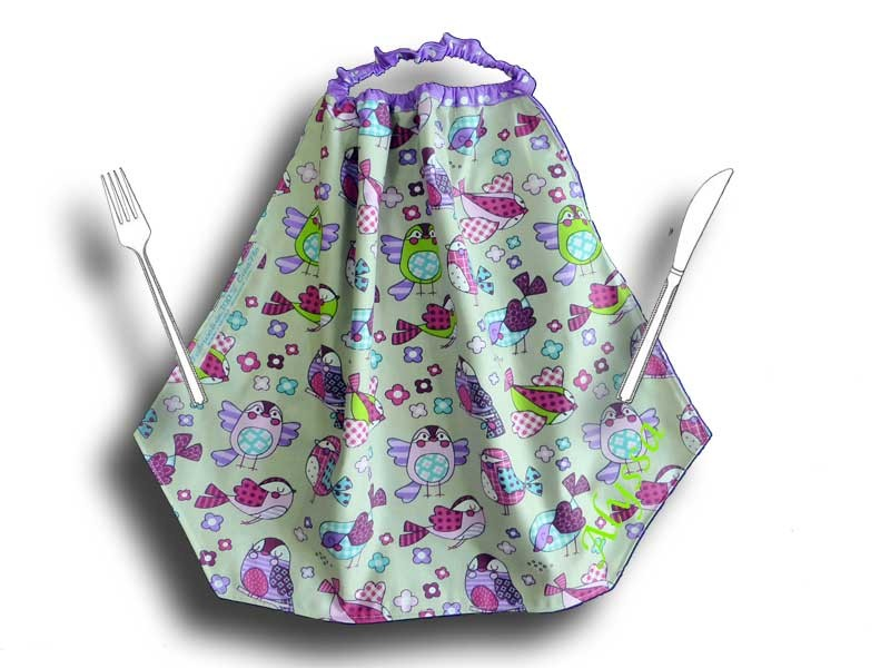 Serviette de table enfant - Motif Piou Piou