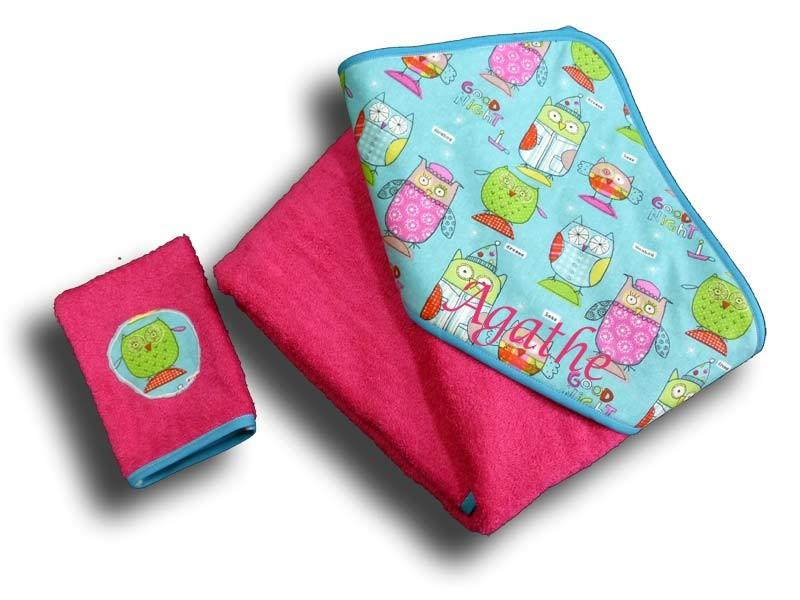 cape de bain enfant fille d s 2 ans cape de bain motif. Black Bedroom Furniture Sets. Home Design Ideas