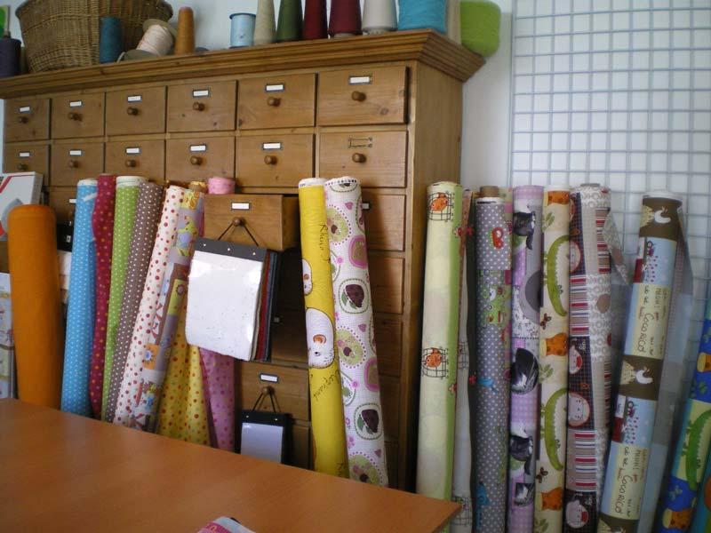 l'atelier CréaFlo et sa collection de tissus